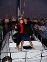 The Captain with wife_your charter crew_Miguel and Agata