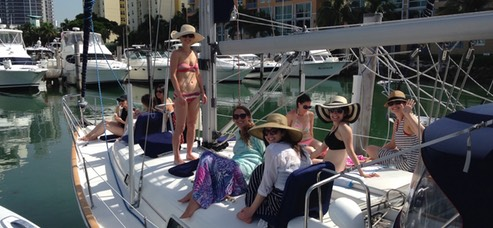 Bachelorette Party Boat in Miami