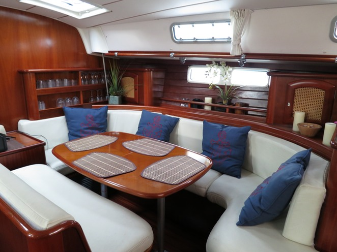 Beneteau sail yacht for charter Miami Beach