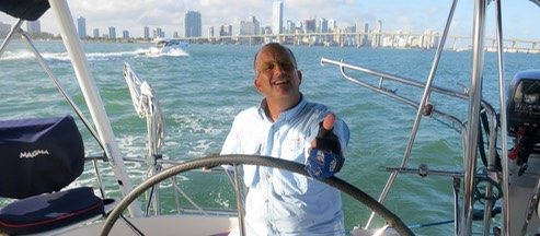 Best sailing charter Miami