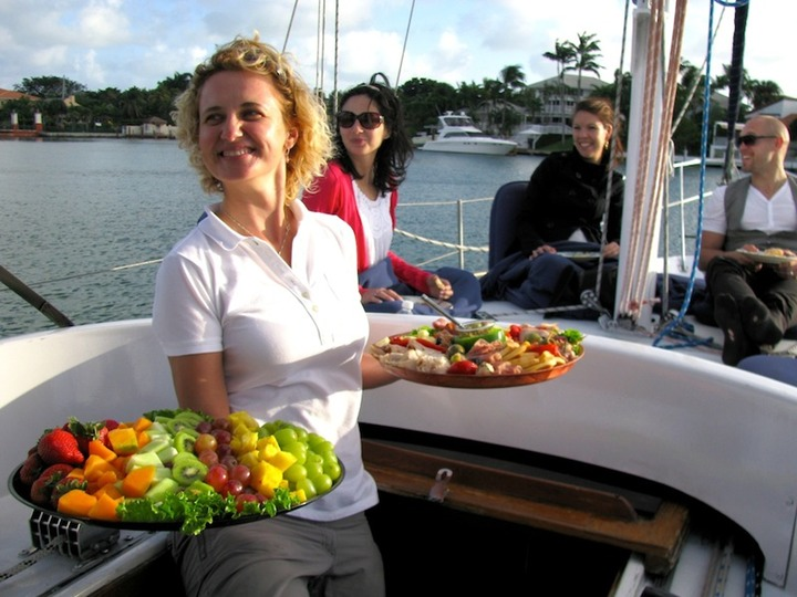 Private Catered Sail Boat Charter Miami