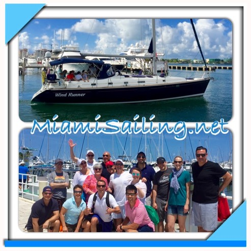 Corpprate boat team building events in Miami