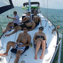 Day Shared Sailing Charters on Biscayne Bay Miami
