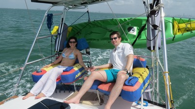 Day sailing trips on Biscayne Bay Miami