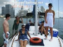 Half day sailing charter in Miami