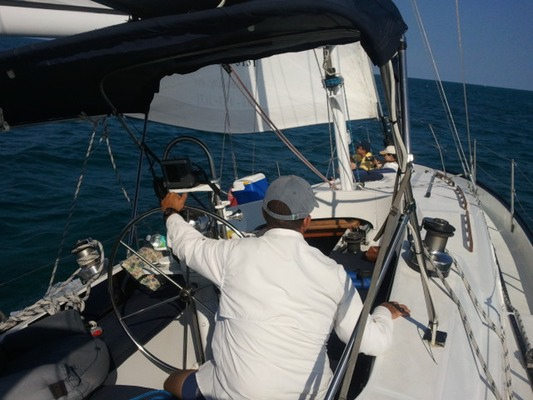 Key Biscayne Bay Sailing Miami
