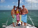 Luxury sailboat rental in Miami - Happy Customers No1