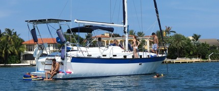 Luxury Sail Boat Charter in Miami Beach
