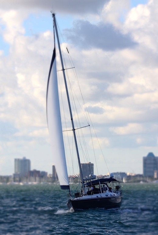 Miami Biscayne Bay sailing S