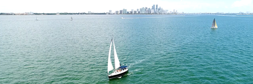 Miami Biscayne Bay Sailing