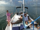 Weekend on a sailboat in South Beach