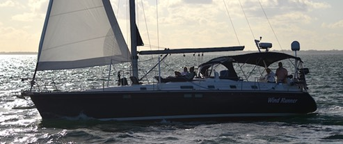 Miami sailboat rental S