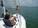 Sailing weekend getaway in Miami