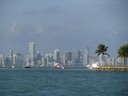 Miami Skyline from Key Biscayne