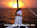Creative wedding ideas in Miami - on a sailboat