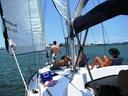 Family sailing charter in Miami
