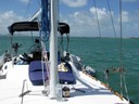 Boat charter on Key Biscayne Bay