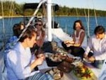 picnic birthday party on a sailboat miami florida xs