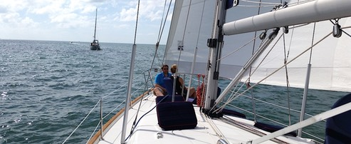 Private Engagement Cruise for two on sailboat Miami