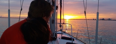 Romantic sunset cruises from Miami