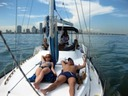 Sailboat rental in Miami Beach