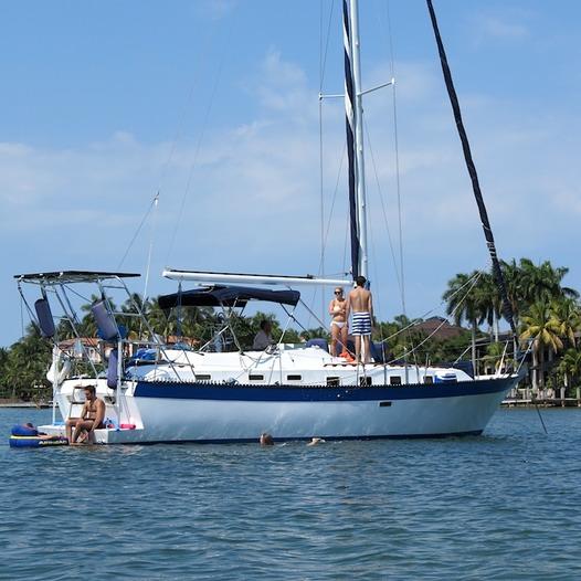 Lancer 42 Feet Sailing Yacht