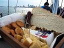Sailing charter with catering