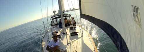 Private sunset sailboat tours Miami