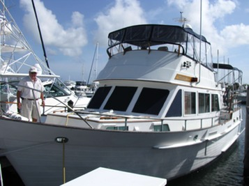 Yacht Trawler Rental in Florida Keys Miami